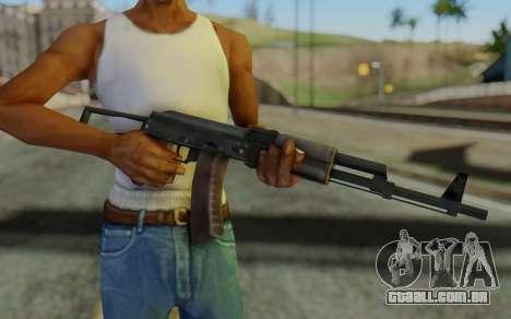 AK-74P para GTA San Andreas terceira tela