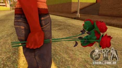 Atmosphere Flowers para GTA San Andreas segunda tela