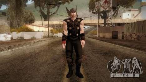 Thor Custom Skin para GTA San Andreas segunda tela