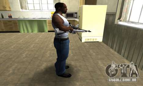 Silver Sniper Rifle para GTA San Andreas terceira tela