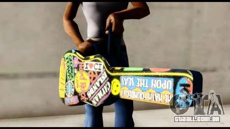 Guitar Case MG Colorful para GTA San Andreas terceira tela