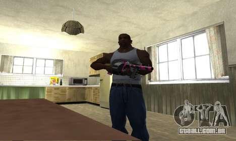 Granate Combat Shotgun para GTA San Andreas terceira tela