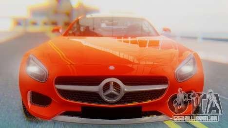 Mercedes-Benz SLS AMG GT para GTA San Andreas vista traseira