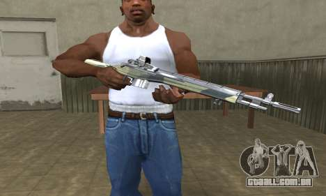 Military Rifle para GTA San Andreas