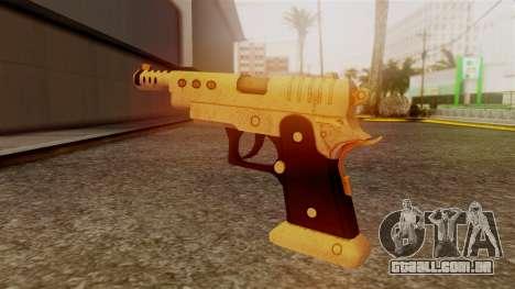 Chrome Hammer Pistol para GTA San Andreas segunda tela