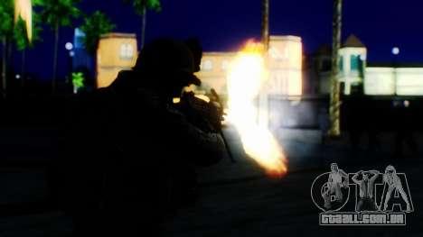 Sonic Unbelievable Shader v8 para GTA San Andreas oitavo tela