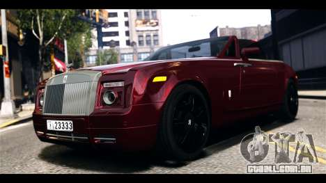 Rolls-Royce Phantom 2009 Coupe v1.0 para GTA 4 esquerda vista
