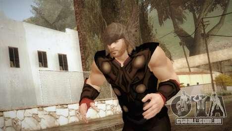 Thor Custom Skin para GTA San Andreas