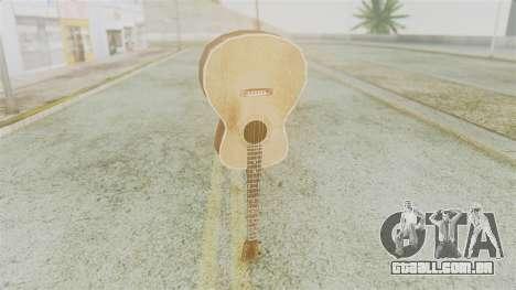 Red Dead Redemption Guitar para GTA San Andreas