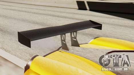 Pegassi Osyra Full Extras para GTA San Andreas vista traseira