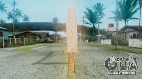 Red Dead Redemption Knife para GTA San Andreas