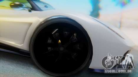 GTA 5 Pegassi Osiris IVF para GTA San Andreas vista traseira