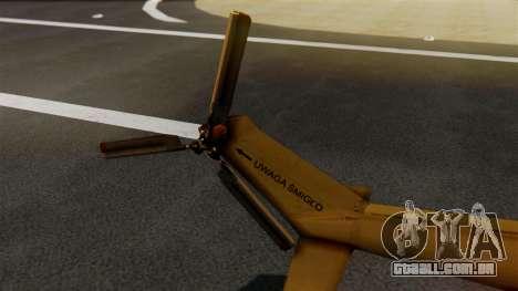 PZL W-3PL Grouse para GTA San Andreas traseira esquerda vista