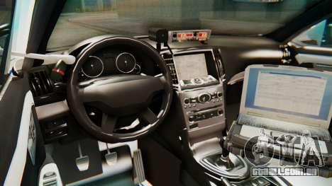 Ford Taurus Iraq Police v2 para GTA San Andreas vista traseira