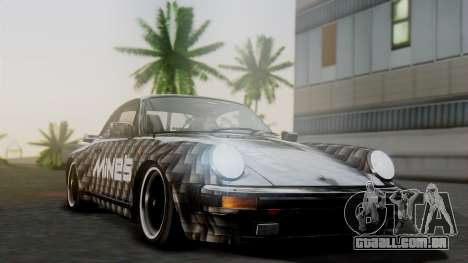 Porsche 911 Turbo (930) 1985 Kit A para vista lateral GTA San Andreas