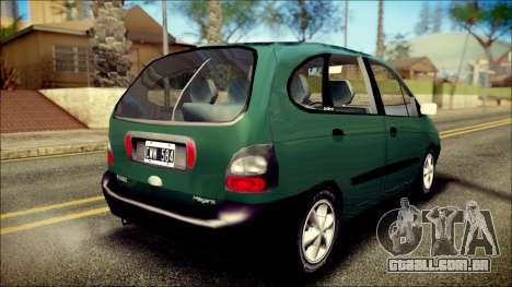 Renault Megane Scenic para GTA San Andreas esquerda vista