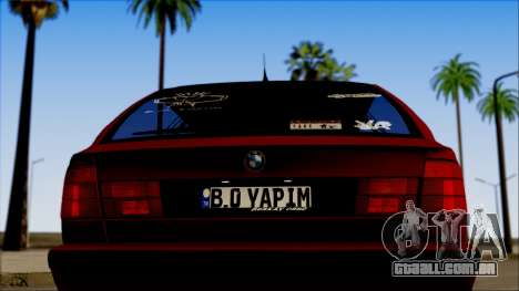 BMW M5 Touring E34 para GTA San Andreas vista direita