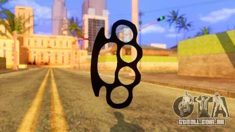 Atmosphere Brass Knuckle para GTA San Andreas segunda tela