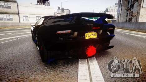 Lamborghini Sesto Elemento 2011 para GTA 4 traseira esquerda vista