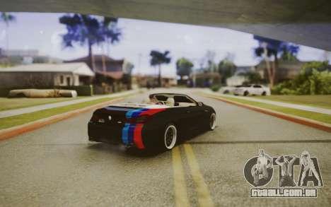 BMW M6 Cabrio para GTA San Andreas esquerda vista