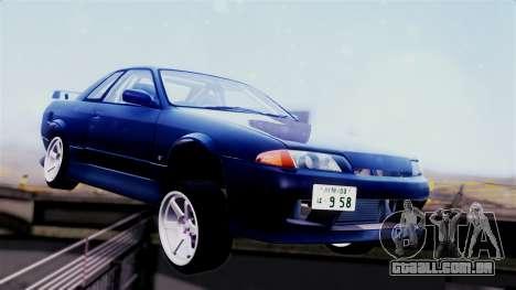 Nissan Skyline R32 para GTA San Andreas esquerda vista