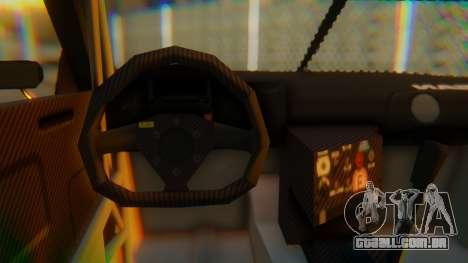 Nissan GT-R GT1 Sumo Tuning para GTA San Andreas vista direita