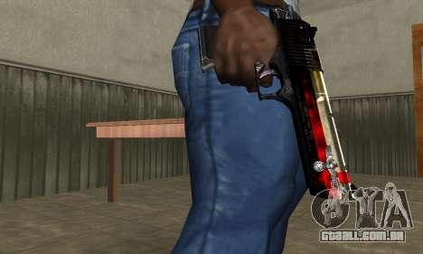 Totenkopf Deagle para GTA San Andreas