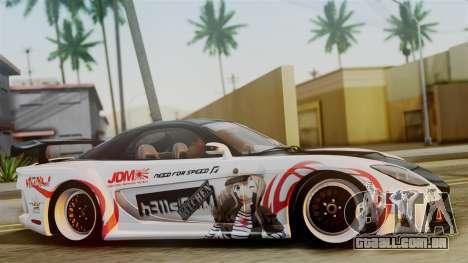 Mazda RX-7 Veilside Mugi Itasha para GTA San Andreas