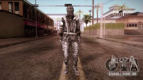 Soldado Do Reich para GTA San Andreas segunda tela
