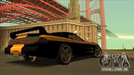 ZR-350 Road King para GTA San Andreas vista interior