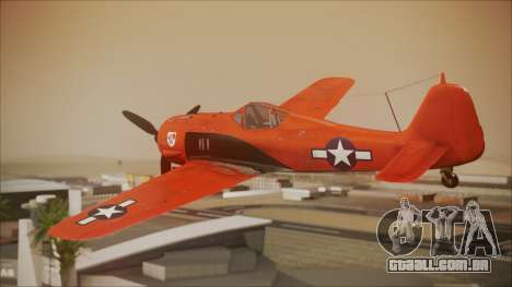 FW-190 A-8 US Air Force para GTA San Andreas esquerda vista
