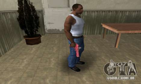 Red Chest Deagle para GTA San Andreas terceira tela