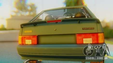 VAZ 2113 Stoke para GTA San Andreas vista interior