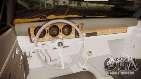 Pontiac GTO 1968 para GTA San Andreas vista traseira