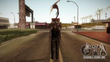 RE4 Don Hose Plagas para GTA San Andreas terceira tela