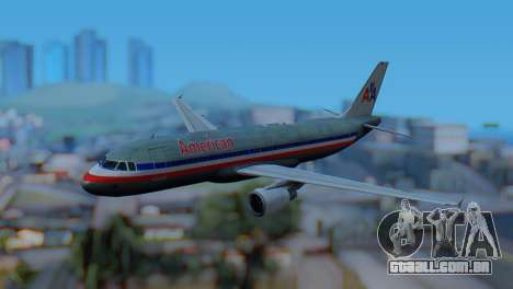 Airbus A320-200 American Airlines (Old Livery) para GTA San Andreas