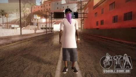 East Side Ballas Member para GTA San Andreas segunda tela