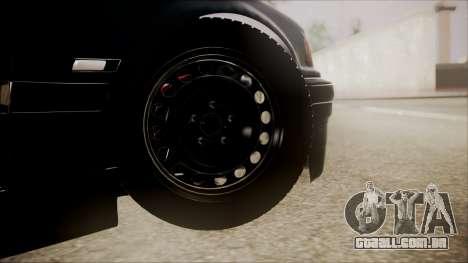 BMW M5 E36 para GTA San Andreas traseira esquerda vista