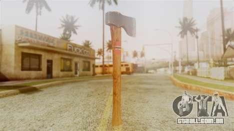 GTA 5 Hatchet v1 para GTA San Andreas segunda tela