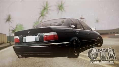 BMW M5 E36 para GTA San Andreas esquerda vista