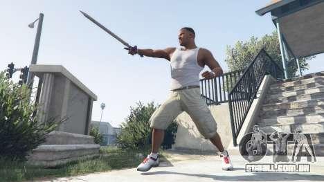 GTA 5 Master Sword segundo screenshot