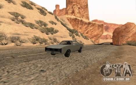 Imponte Dukes SA Style para GTA San Andreas vista interior