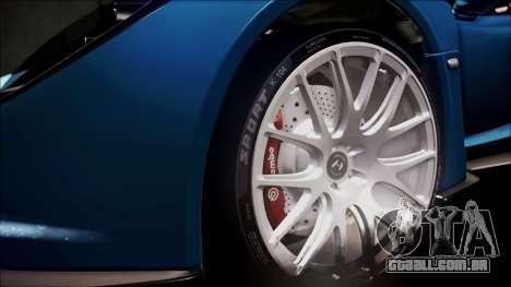 Hennessey Venom GT 2012 U.S.A American para GTA San Andreas vista superior