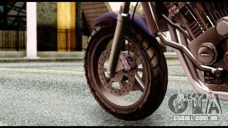 Ducati FCR-900 v4 para GTA San Andreas traseira esquerda vista