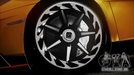 Lamborghini Veneno LP700-4 AVSM Roadster Version para GTA San Andreas vista direita