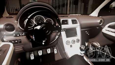 Subaru Impreza WRX STI B. O. Construction para GTA San Andreas vista direita