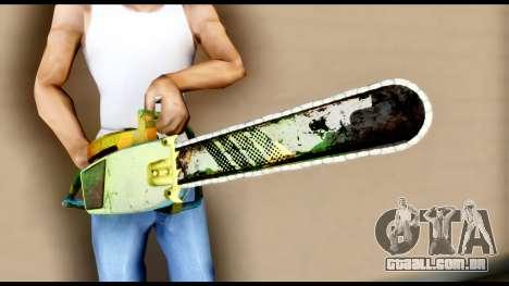 Brasileiro Chainsaw para GTA San Andreas terceira tela