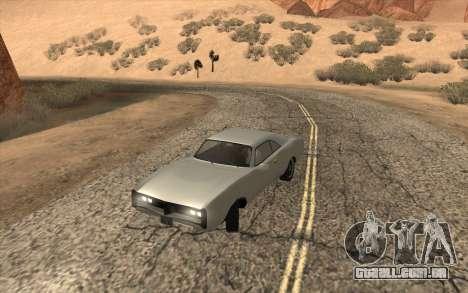 Imponte Dukes SA Style para GTA San Andreas traseira esquerda vista