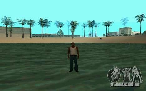 Andando sobre as águas para GTA San Andreas segunda tela