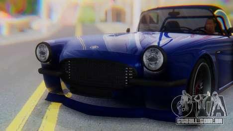 Invetero Coquette BlackFin v2 SA Plate para vista lateral GTA San Andreas